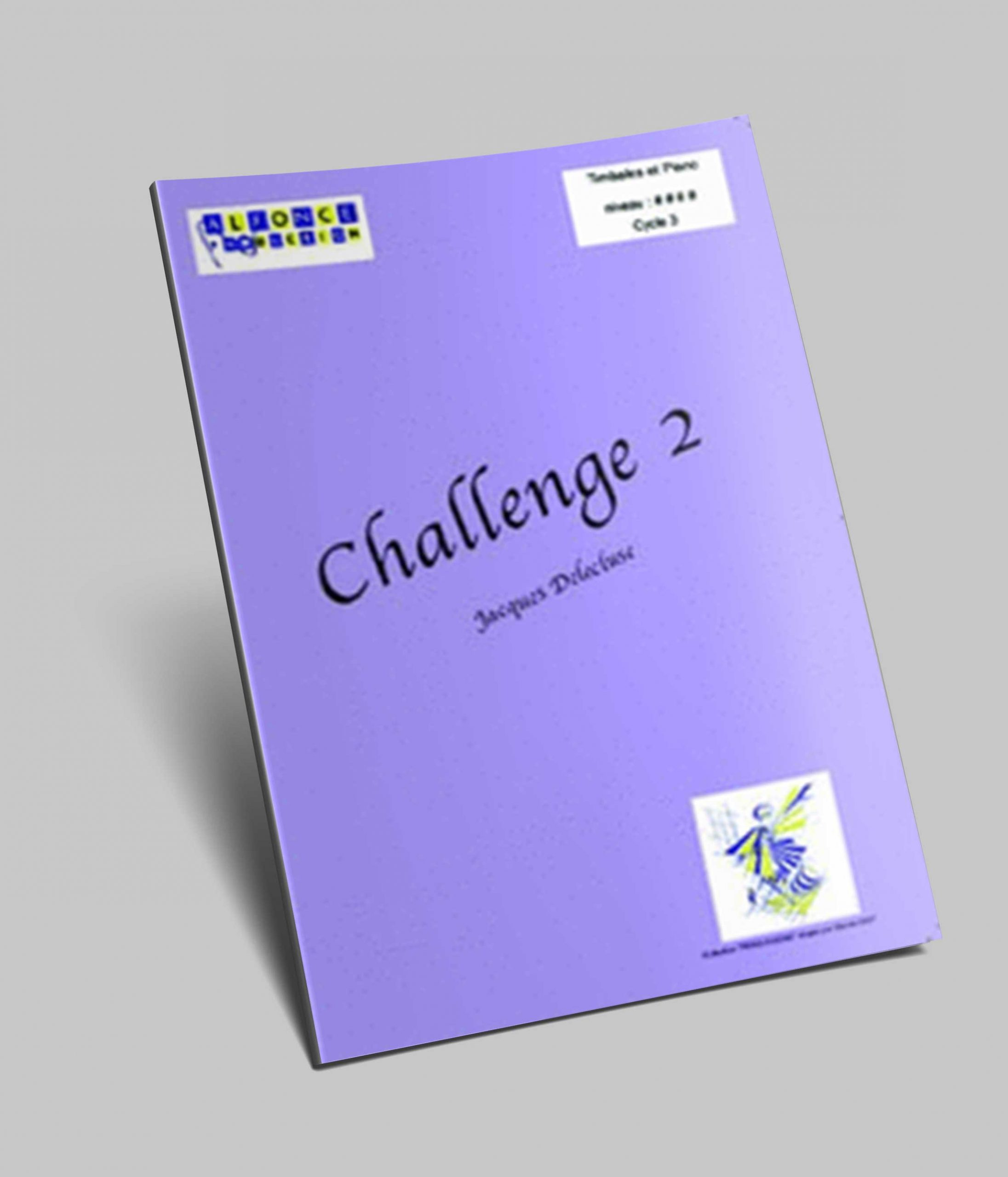 Challenge Vol.2 pour Timbales et Piano